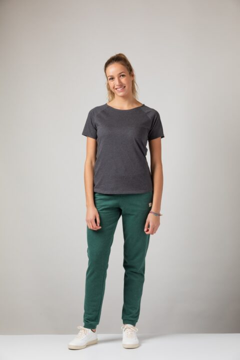 Women basic T-Shirt onyx