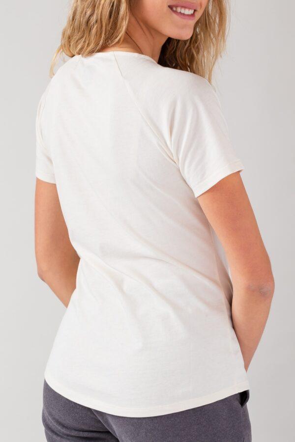 Women basic T-Shirt natural