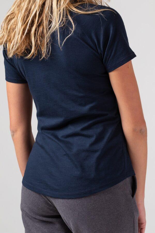 Women basic T-Shirt blue