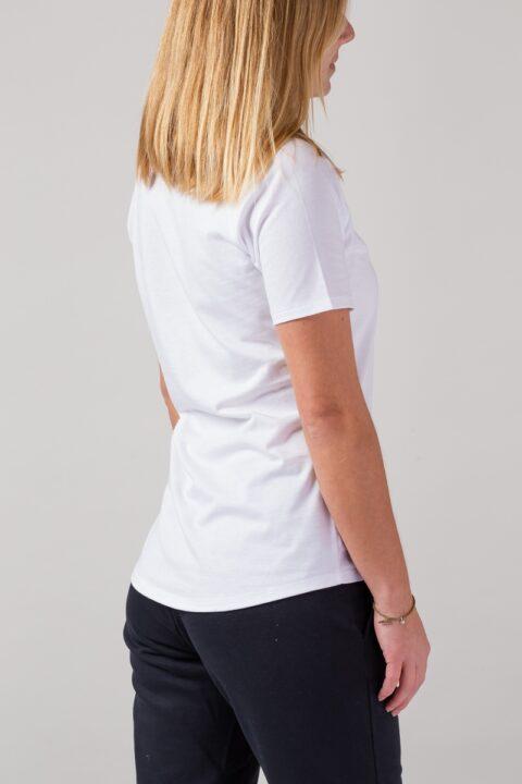 Women basic T-Shirt white