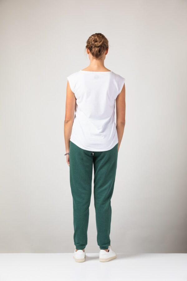 Women basic Two-Shirt white