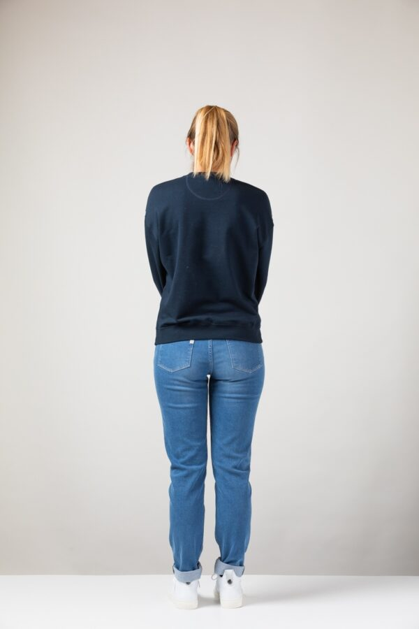 Women basic Sweater blue