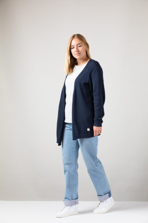 Women Cardigan blue