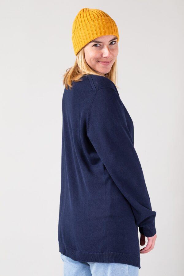 Women Cardigan blue