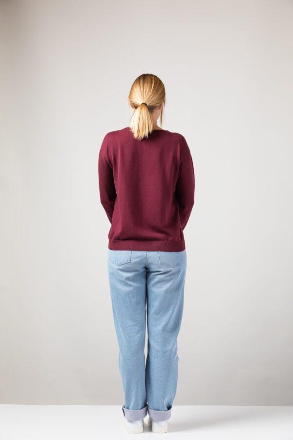 Women Sweater bordeaux