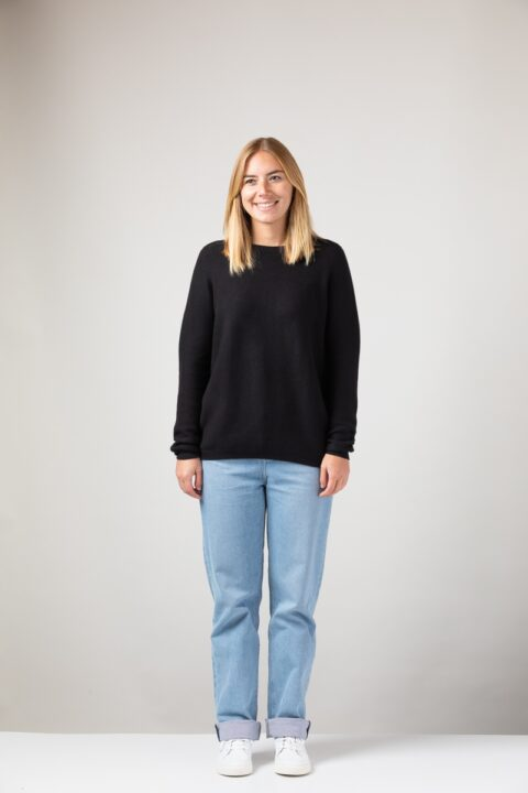 Women Lina Sweater black