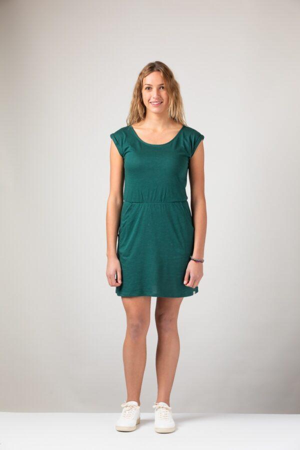 Women basic Dress green