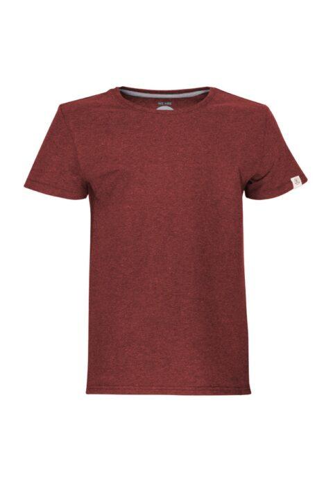 Kids T-Shirt basic dark wine