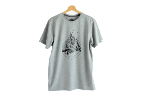 we are zrcl Mountain T-Shirt von Kim Becker
