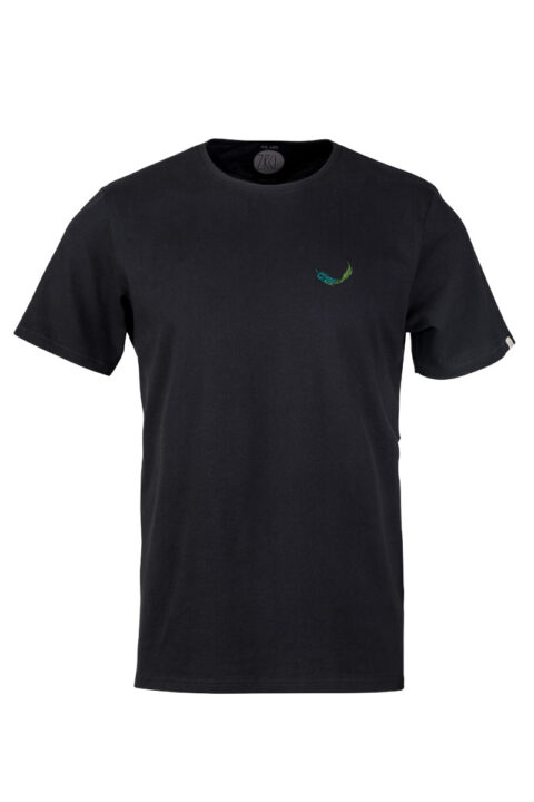 Men T-Shirt Dabu Feather black