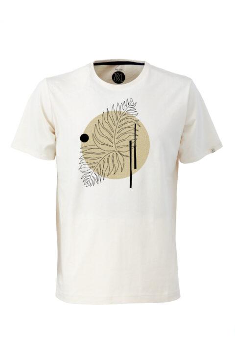 Men T-Shirt Farn natural