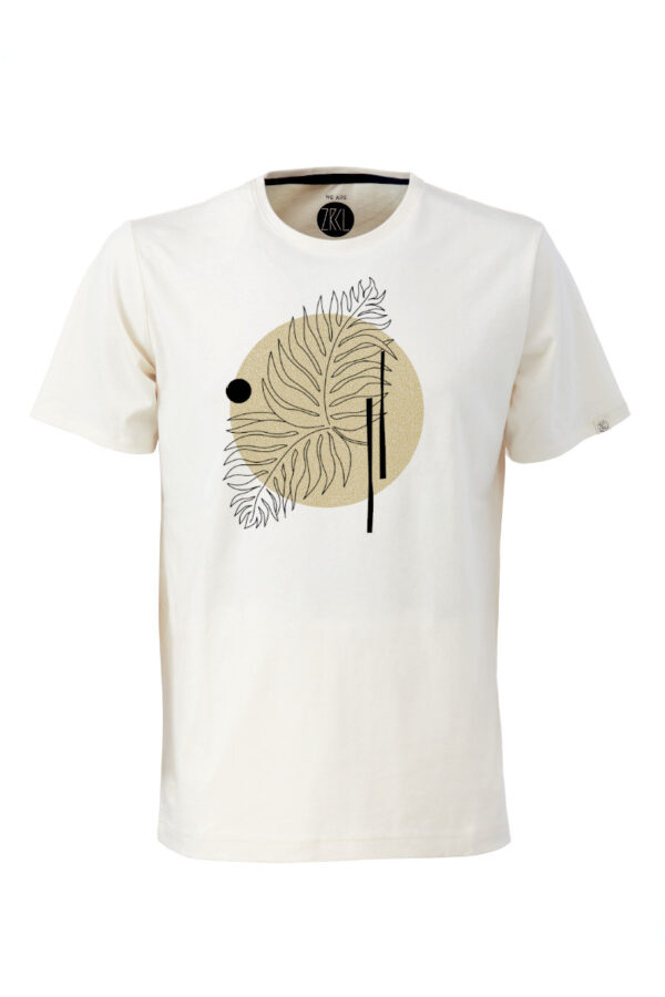 Men T-Shirt Farn natural