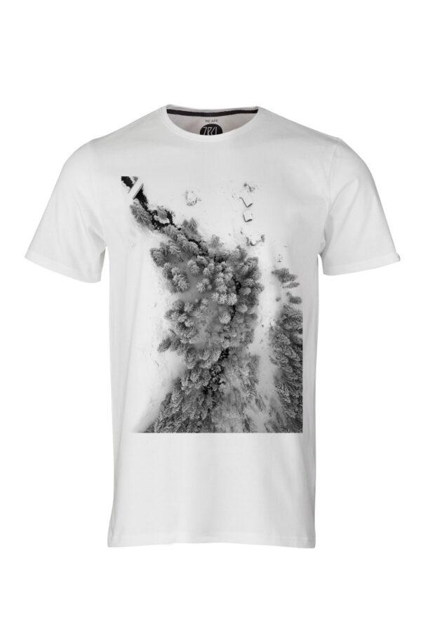 ZRCL Herren Foto Forest T-Shirt Silvan Widmer