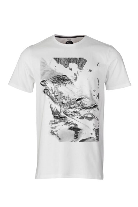 ZRCL Herren Foto Glacier T-Shirt Silvan Widmer
