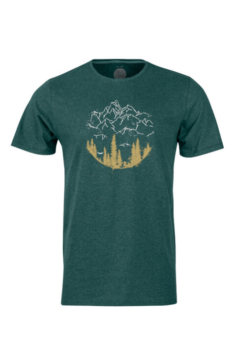 Men T-Shirt Hammock green stone