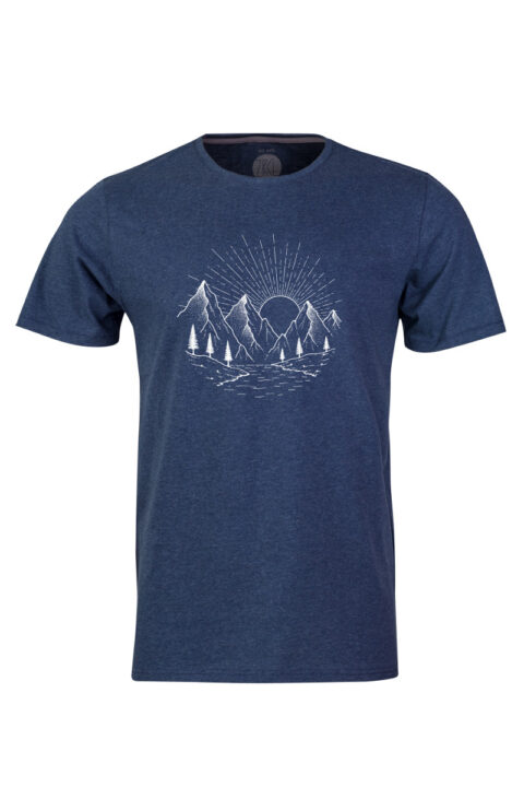 ZRCL Stone T-Shirt blue stone ankatsom anette sommerseth