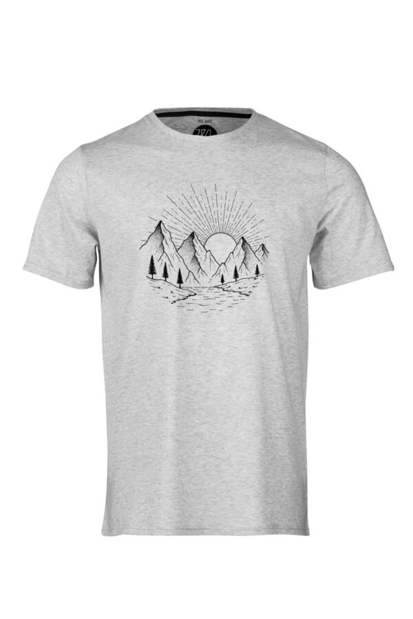ZRCL Stone T-Shirt silver shineankatsom anette sommerseth