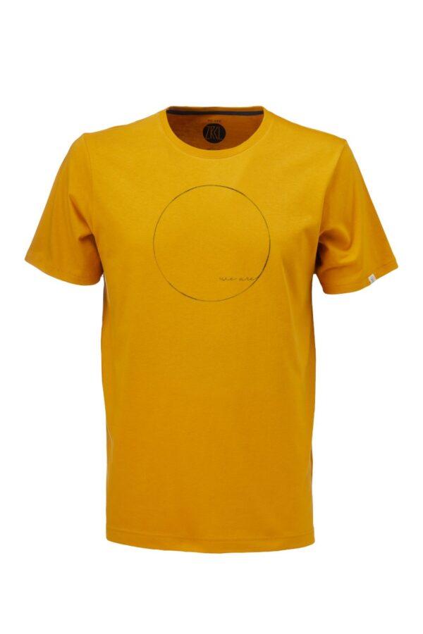 Men T-Shirt WE ARE amber