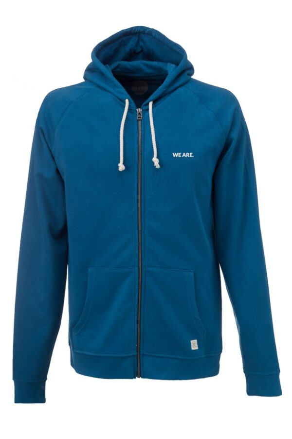 Men Zip-Hoodie WE ARE 2.0 petrol
