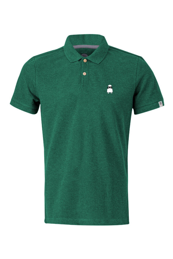 Men Polo Ghost green