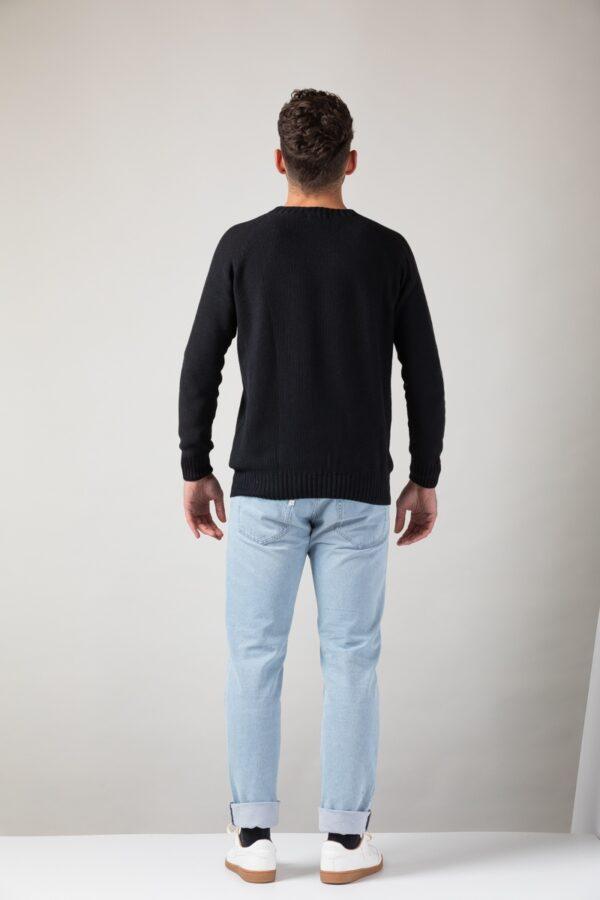 Men Melk Sweater black