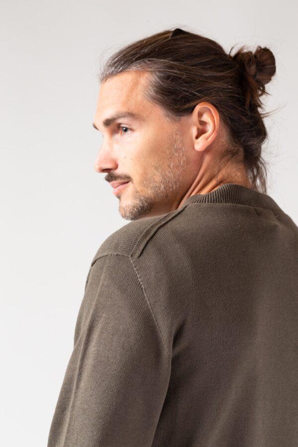 Men Bowler Jacket olive