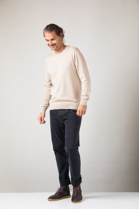 Men basic Sweater tofu