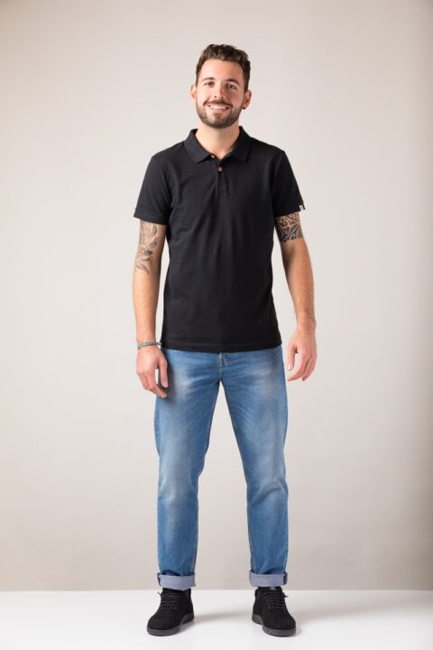 Men basic Polo black