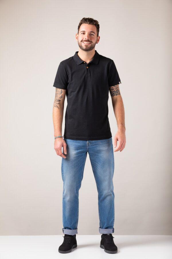 Men basic Polo black