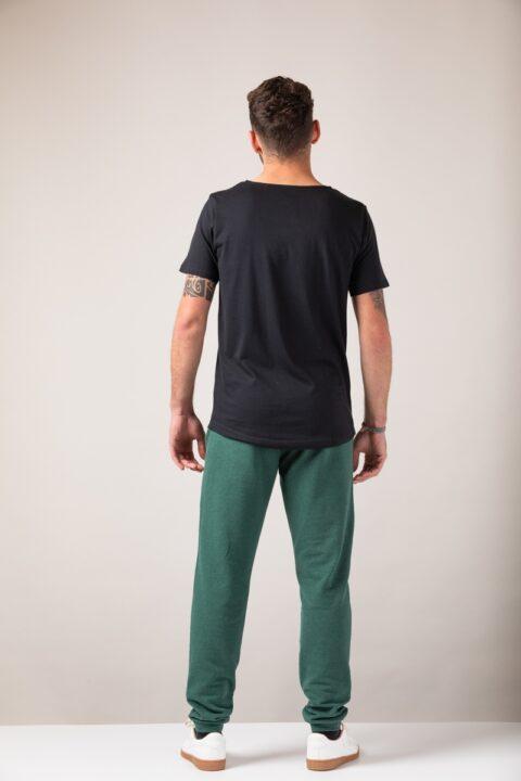 Men loose T-Shirt black