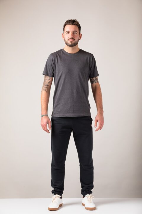 Men basic T-Shirt onyx