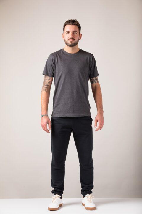 Men basic T-Shirt onyx