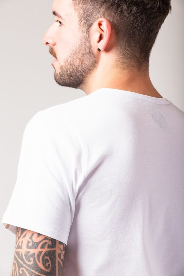 Men basic T-Shirt white
