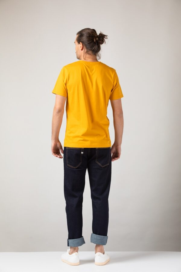 Men basic T-Shirt amber