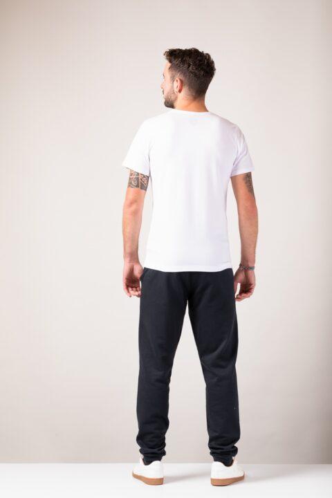Men basic T-Shirt white