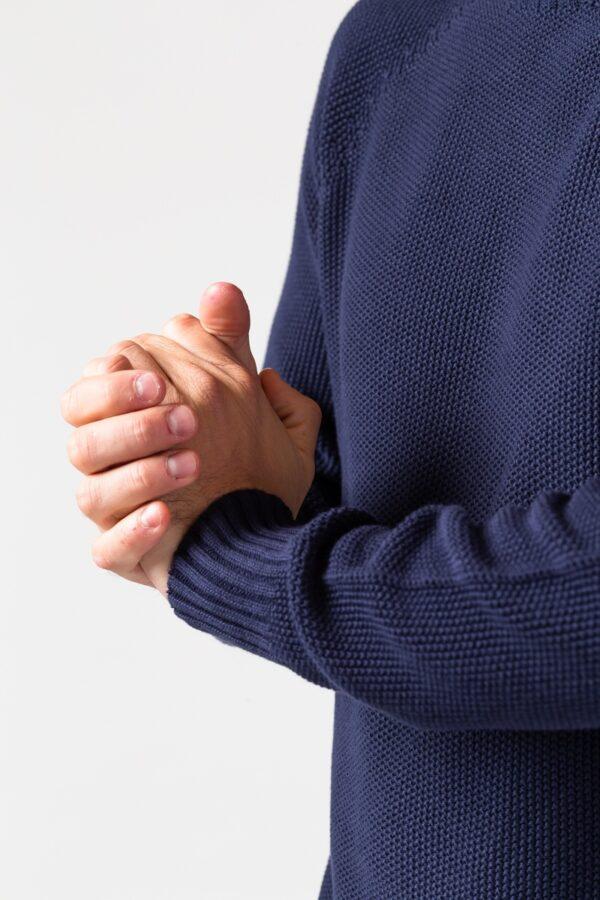 Men Melk Sweater blue