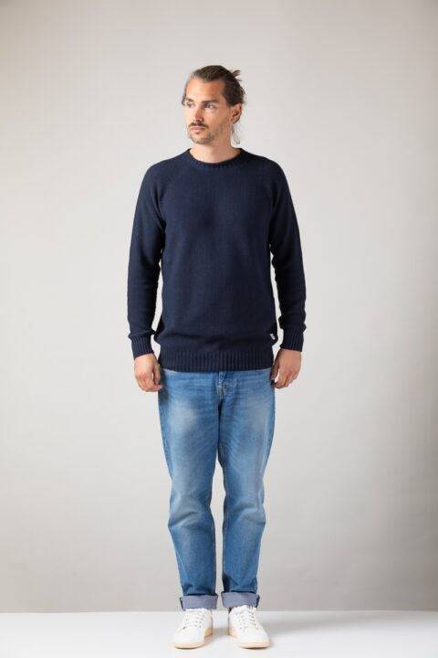 Men Melk Sweater blue