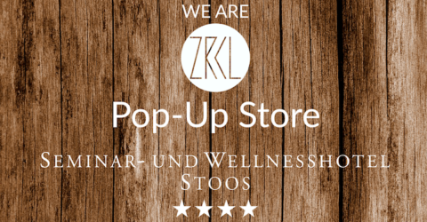 WE ARE ZRCL Pop-Up Store im Wellness & Seminar Hotel Stoos