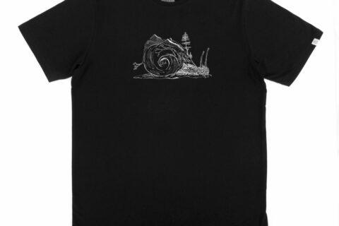 ZRCL Snail Men T-Shirt by Timona Hug