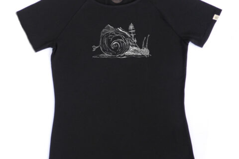 ZRCL Snail Women T-Shirt by Timona Hug