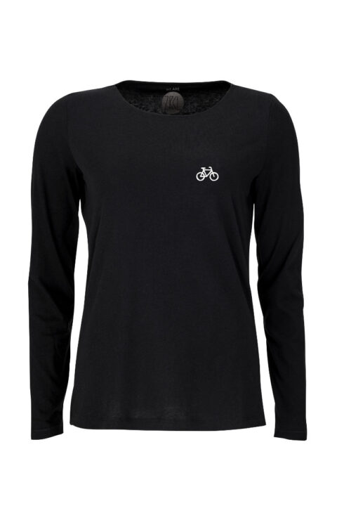 Women Longsleeve VELO black
