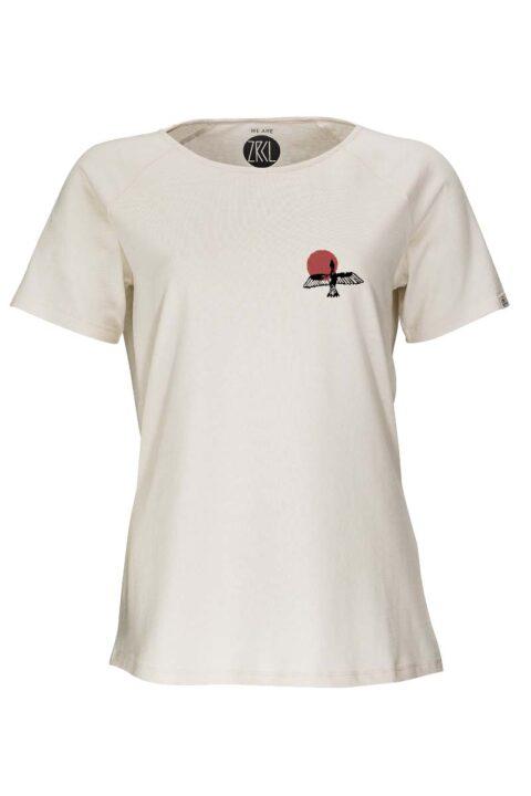 Damen T-Shirt Bird natural