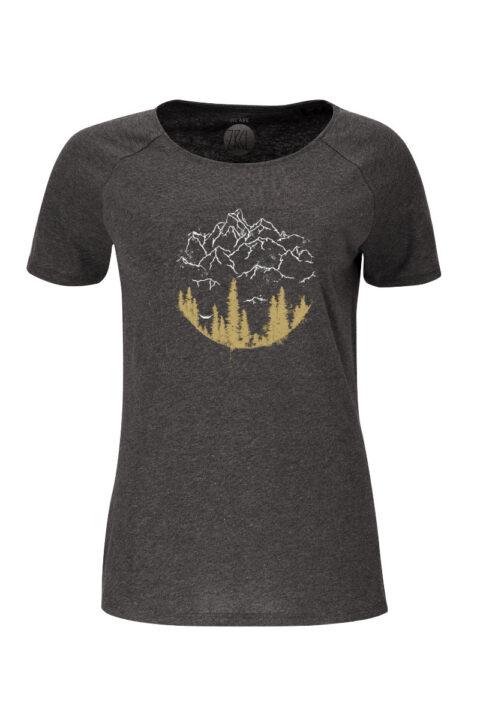 Women T-Shirt Hammock onyx