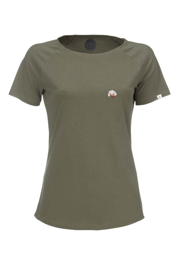 Damen T-Shirt Kitumba olive