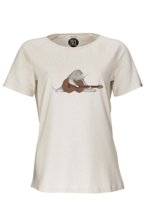Damen T-Shirt Mole natural