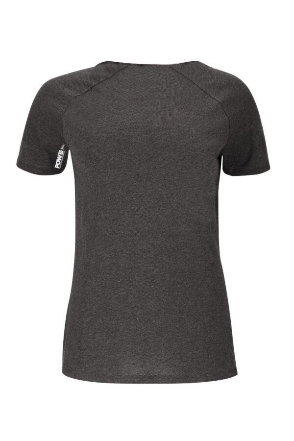 Women T-Shirt POW onyx
