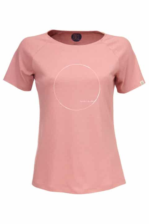 Women WE ARE T-Shirt old rose
