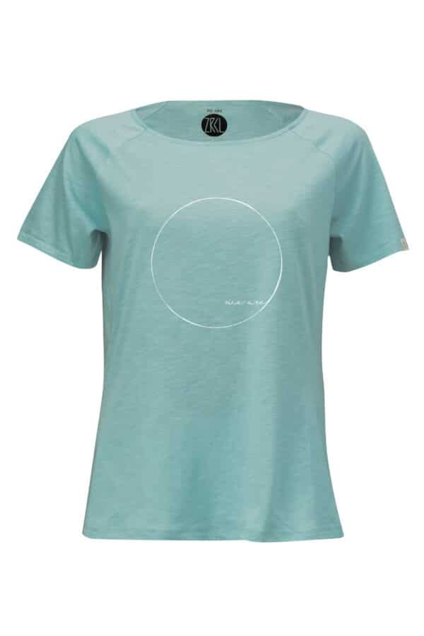 Women T-Shirt WE ARE teal