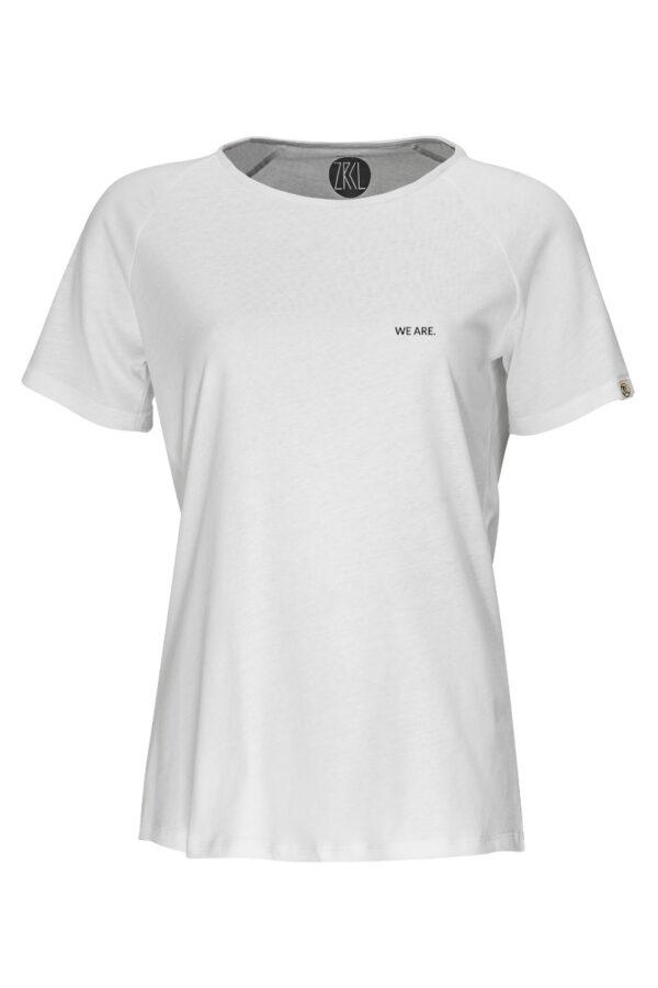 Women T-Shirt We are 2.0 white