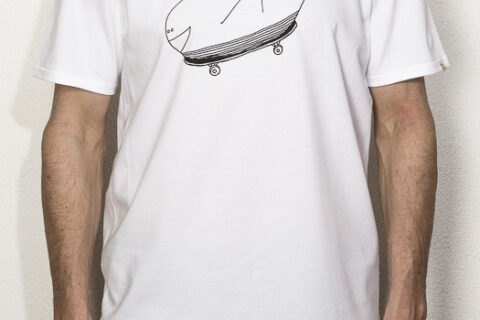 we are zrcl Whale T-Shirt von Alex Schauwecker